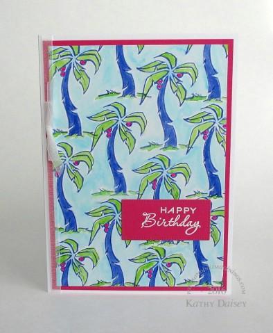 lilly esque palm birthday