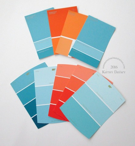 Rio Olympic Indoor Volleyball Home Depot paint chips