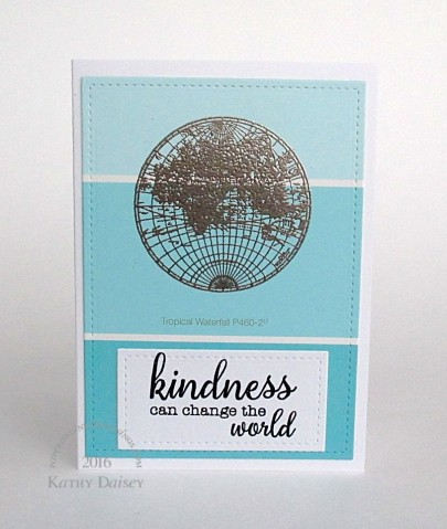 world kindness paint chip note