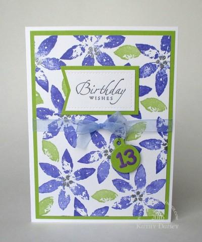 13th-birhday-purple-flowers