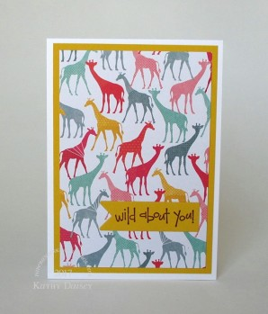 oh happy life giraffe wild note