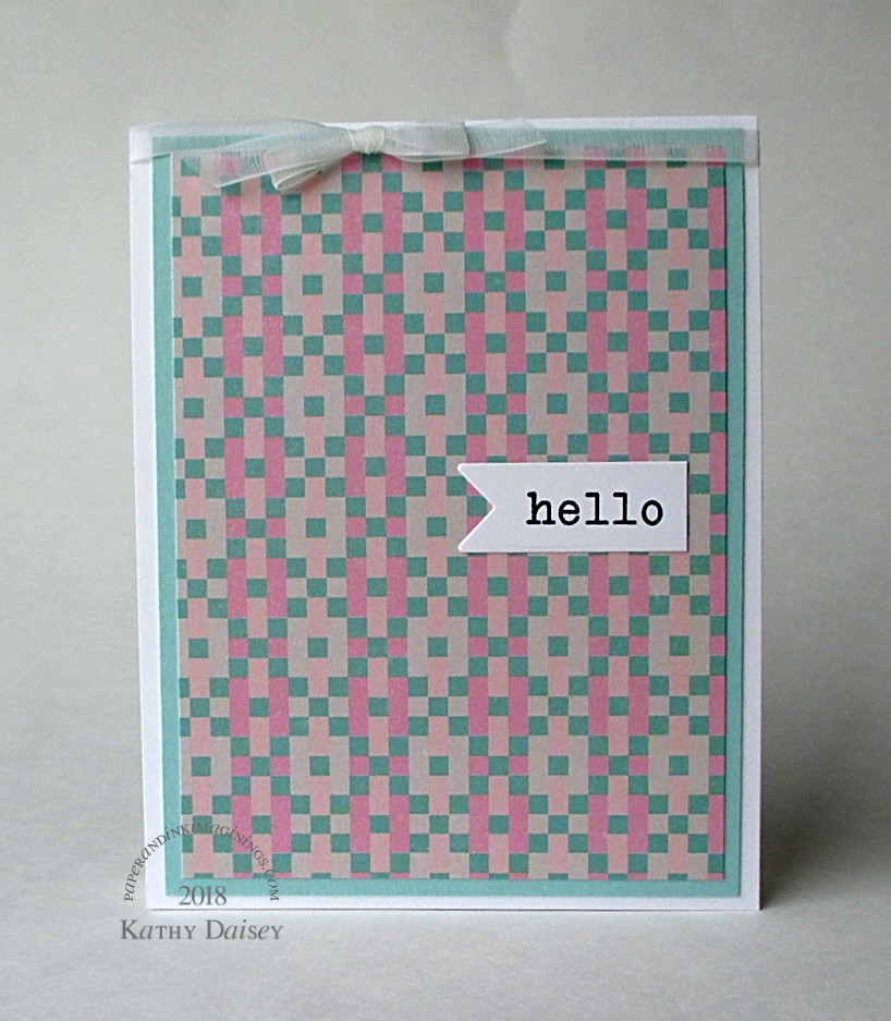 Trio Of Pink Encouragement Cards Paper And Ink Imaginings