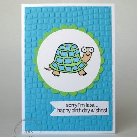 late turtle neon note